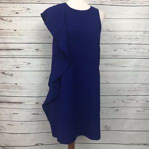 Chelsea28 Asymmetrical Sleeveless Shift Dress 6
